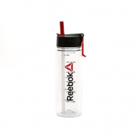 Бутылка для воды Reebok 0,65 Clear Wordmark RABT-P65CLWORD